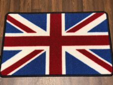 NON SLIP 50x80CM RED/WHITE/BLUE NICE WASHABLE DOORMAT QUALITY UNION JACK
